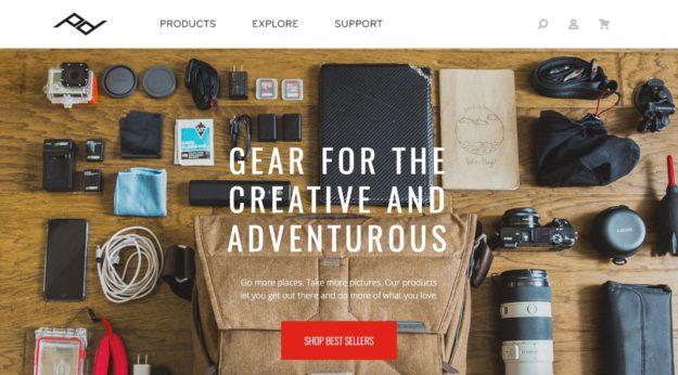 Peakdesign公式サイト