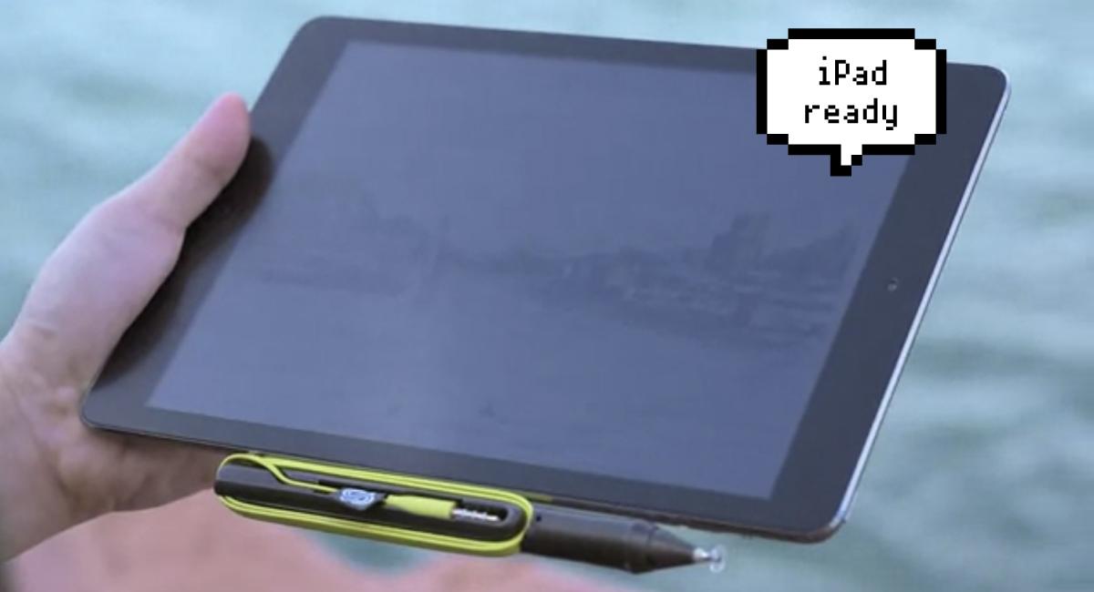 Proだけじゃない!『iPad』にも対応!