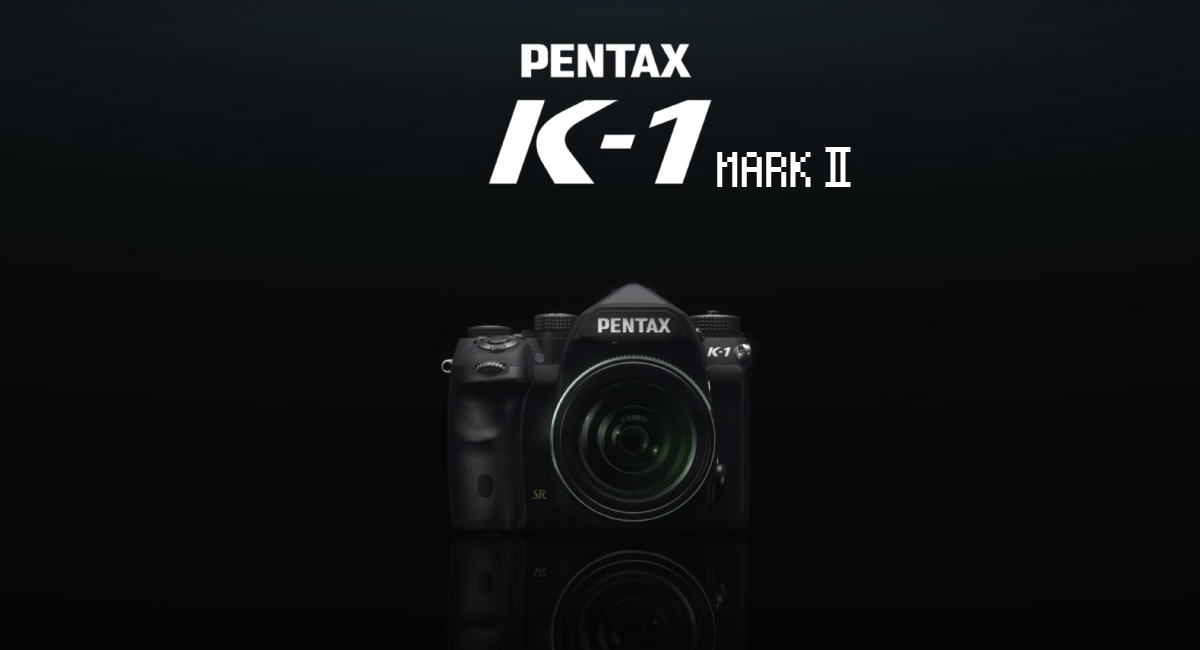 マイナーチェンジ?『PENTAX K-1 Mark II