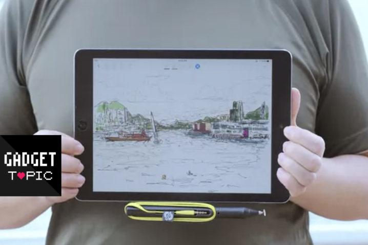 電池不要のiPad専用デジタイザ『SonarPen』がKickstarterに登場!