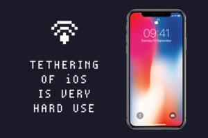 """おこ!『iPhone』の""""テザリング""""はどうやっても切れるようですね…"""