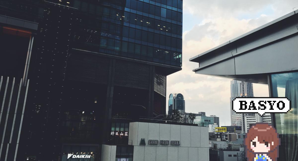 """『グランフロント大阪』の""""エレベーター""""からの景色"""