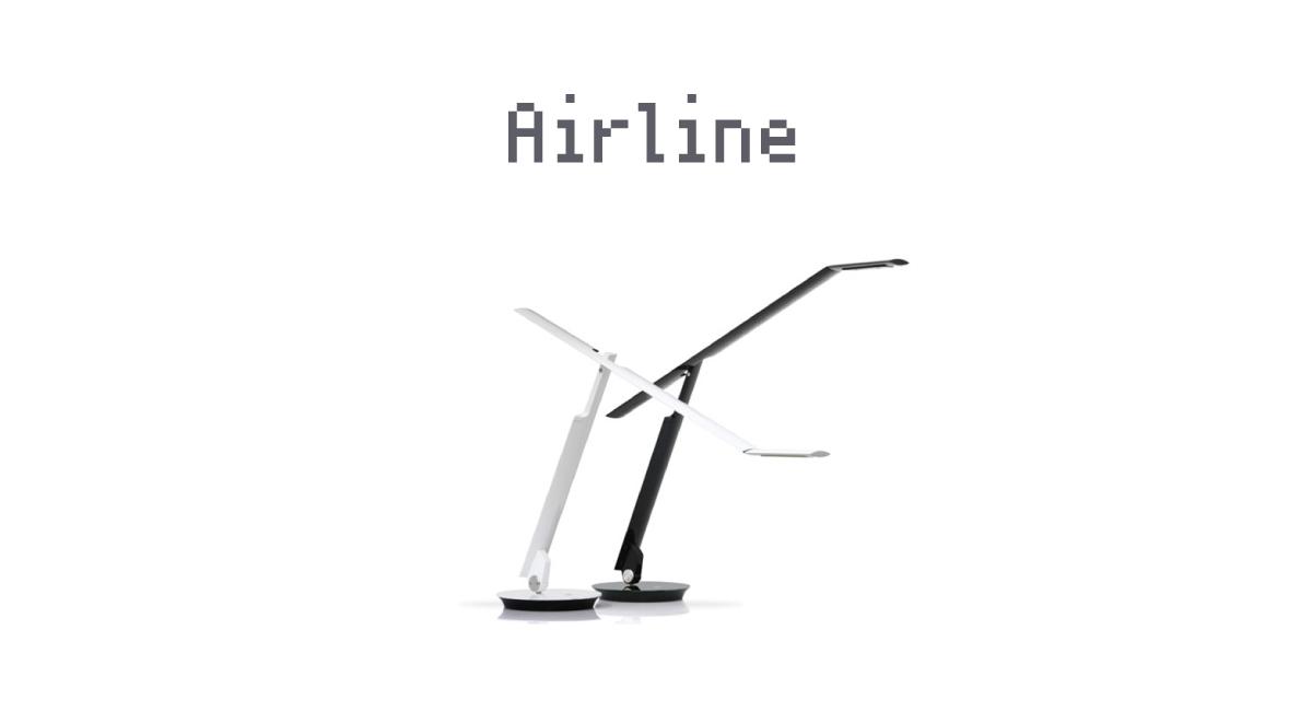 ハンドメイドLEDデスクライト『Airline』