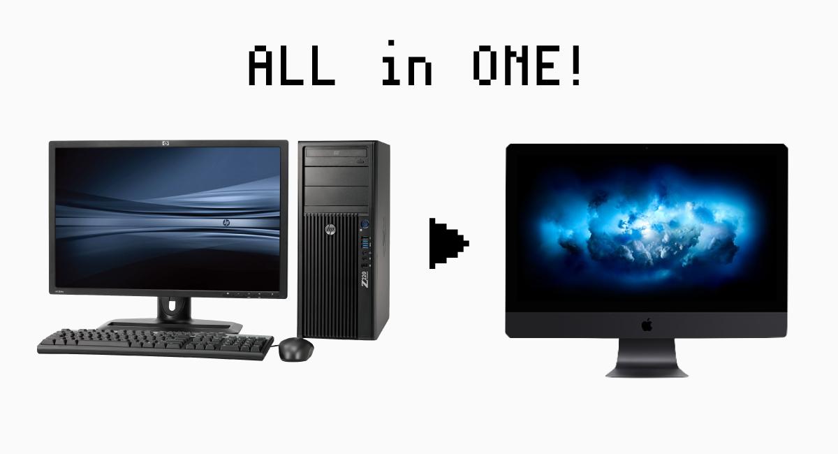 オールインワンワークステーション『iMac Pro』