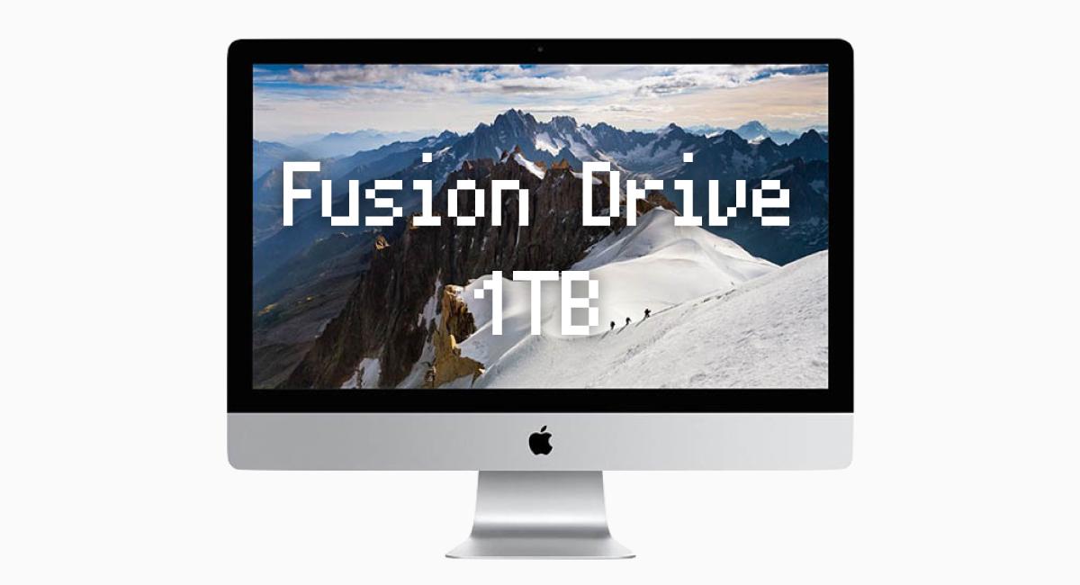 """1TB『Fusion Drive』は、SSD領域""""超少ない""""から地雷!"""