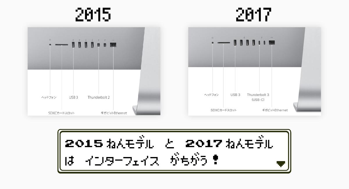 """理由4.『iMac 5K』は""""2017年モデル""""にすべき"""
