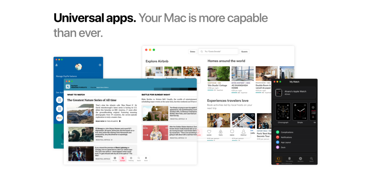 3.『iOS』と『mac OS』アプリの統合