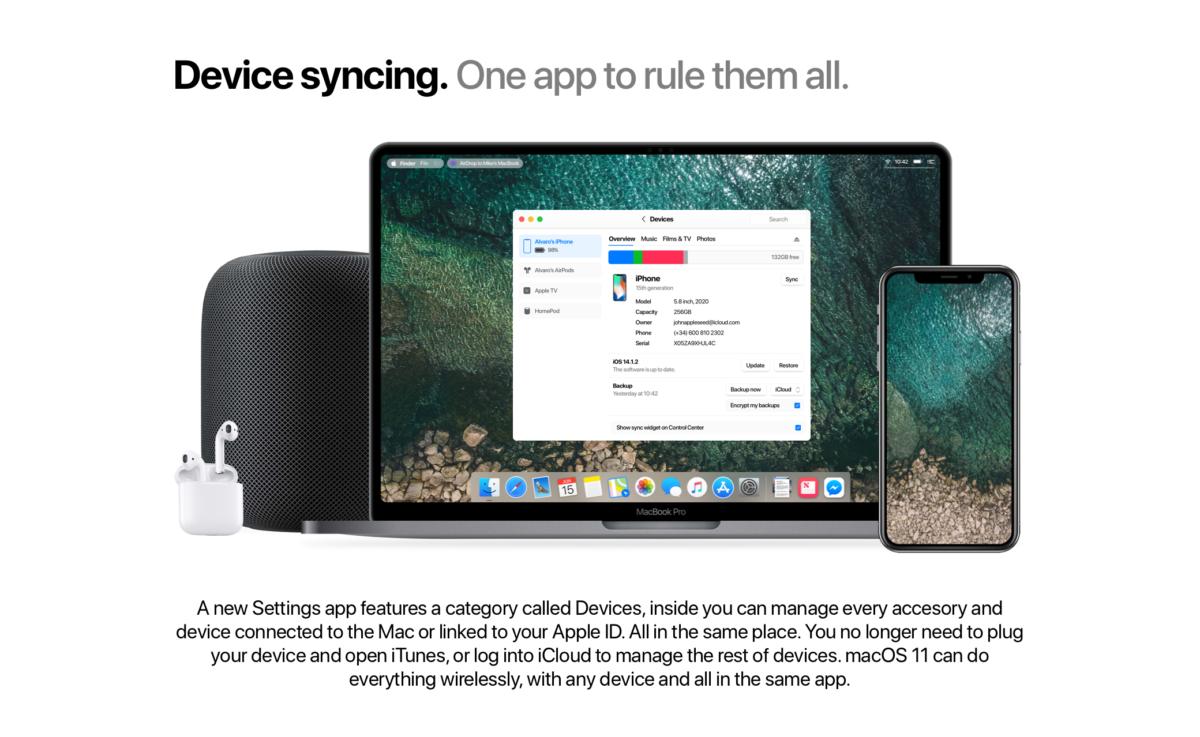 """7.『Mac』でも""""iPhoneの設定""""を変更可能に"""