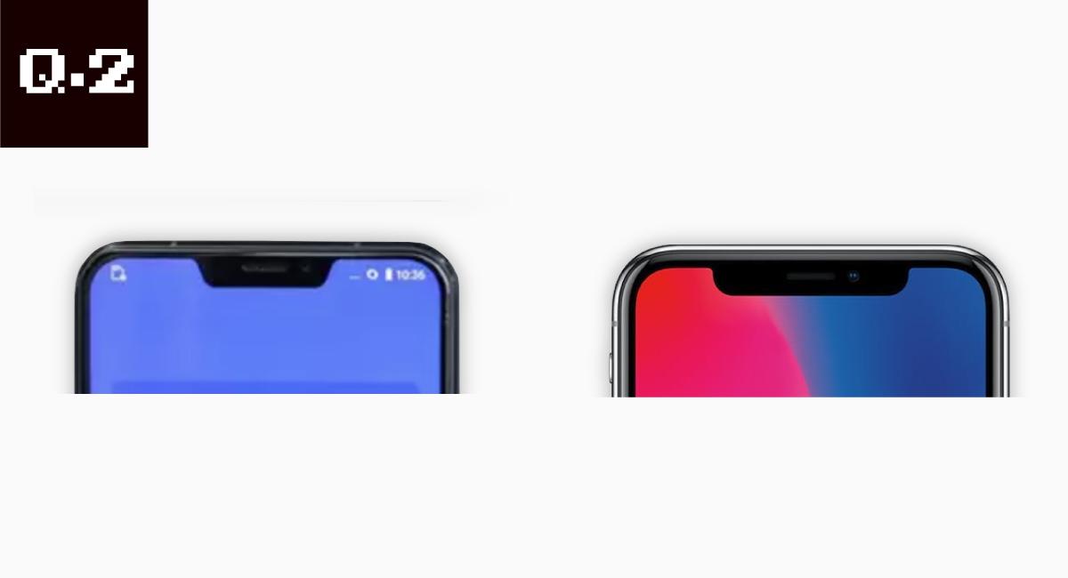 第2問.どっちが『iPhone X』?