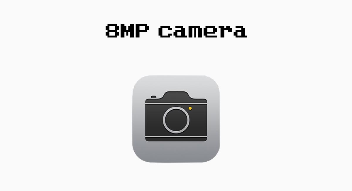 3.背面カメラが8MPは変わらず