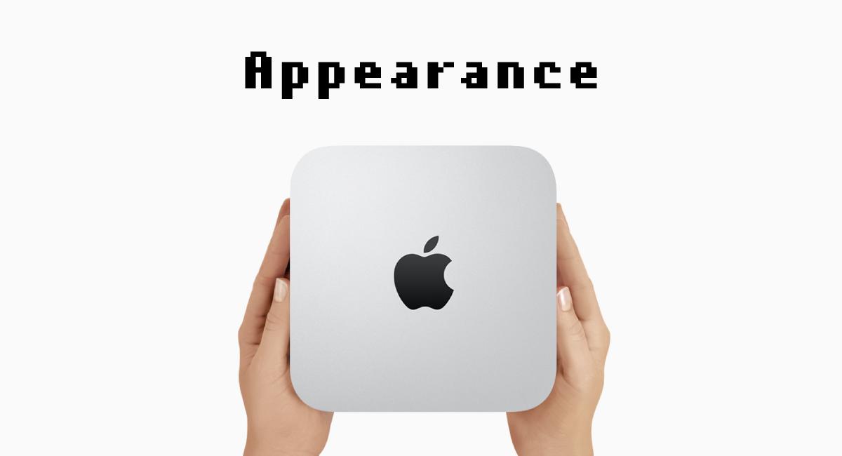 新型『Mac mini』の外観