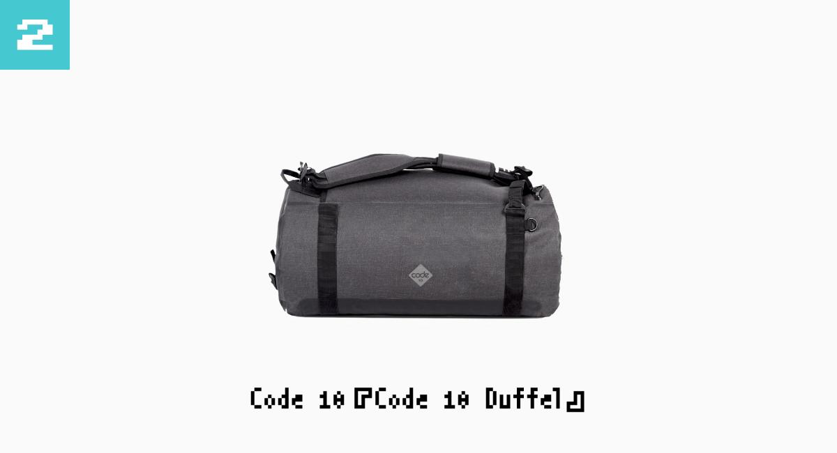 2.Code 10『Code 10 Duffel』