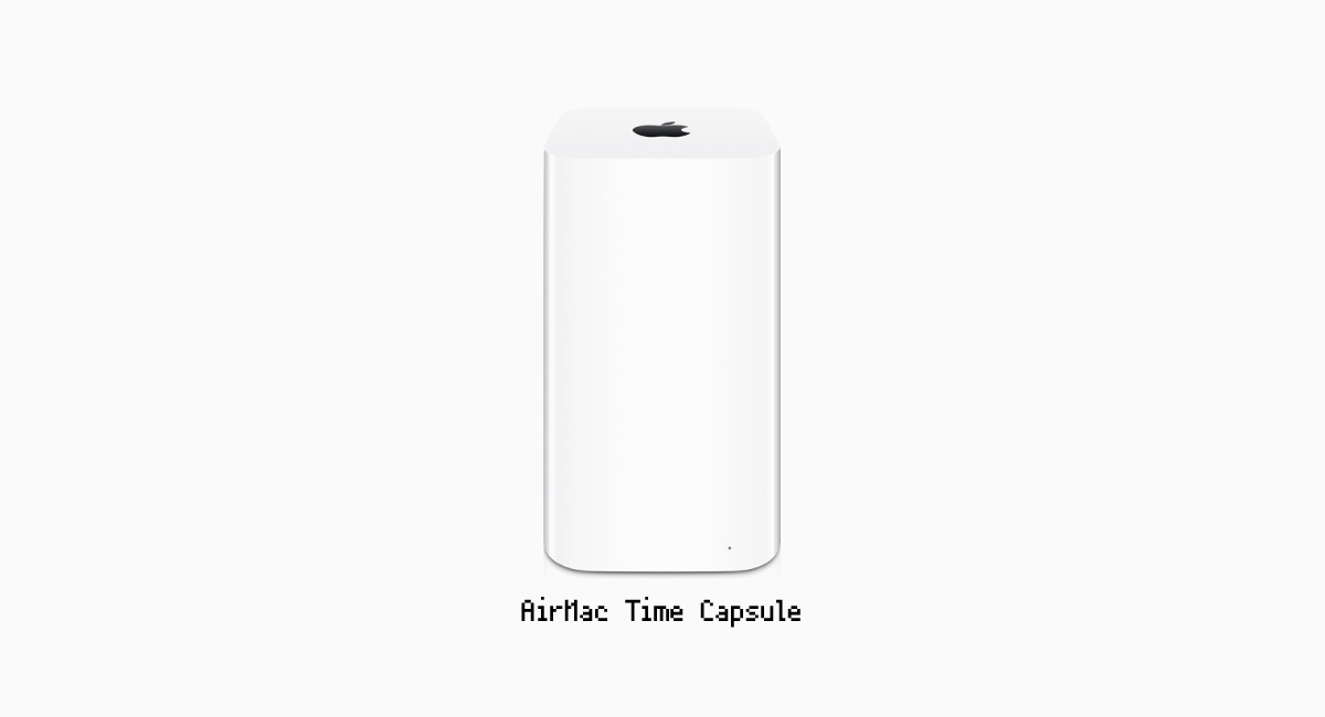 『AirMac Time Capsule』