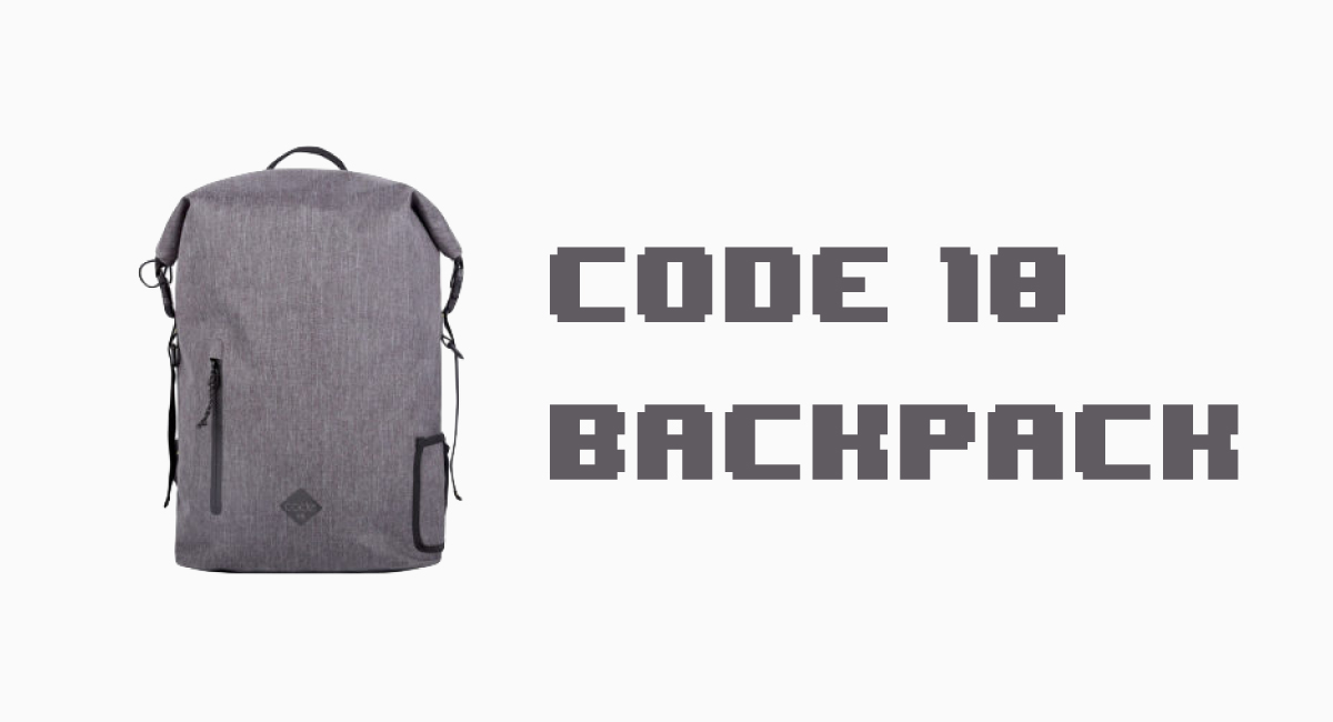 『Code 10 Backpack』