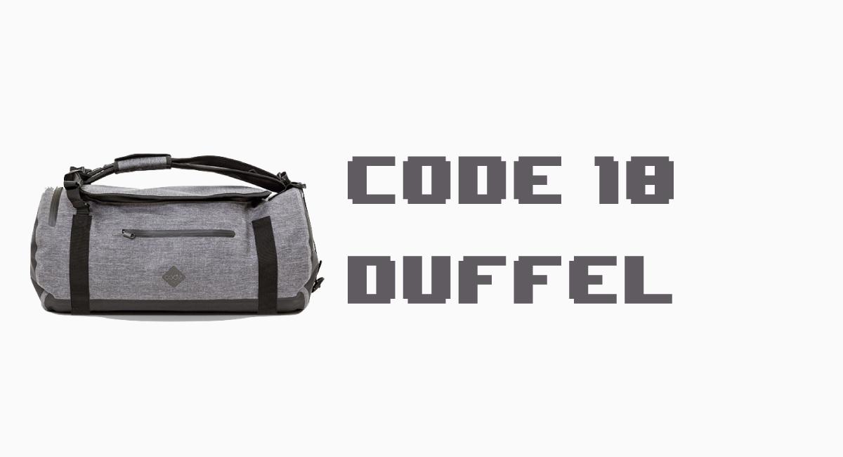 『Code 10 Duffel』