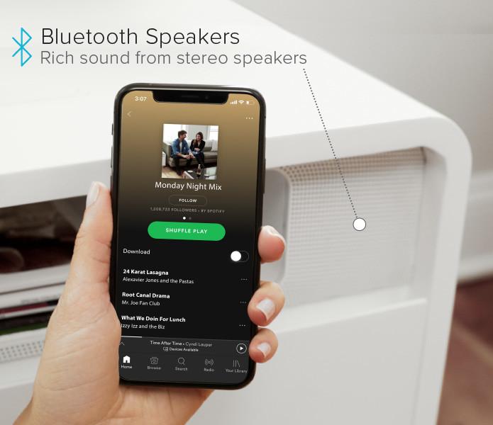 """3.快眠をサポート""""Bluetoothスピーカー"""""""