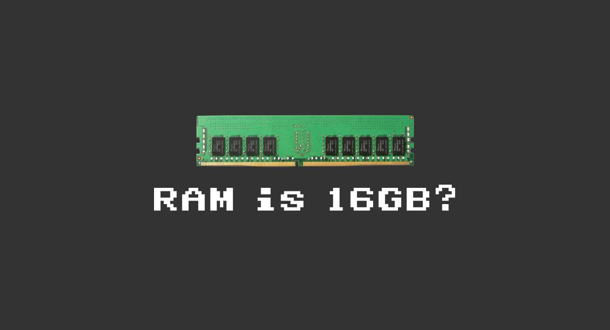 RAMは16GB止まりが濃厚