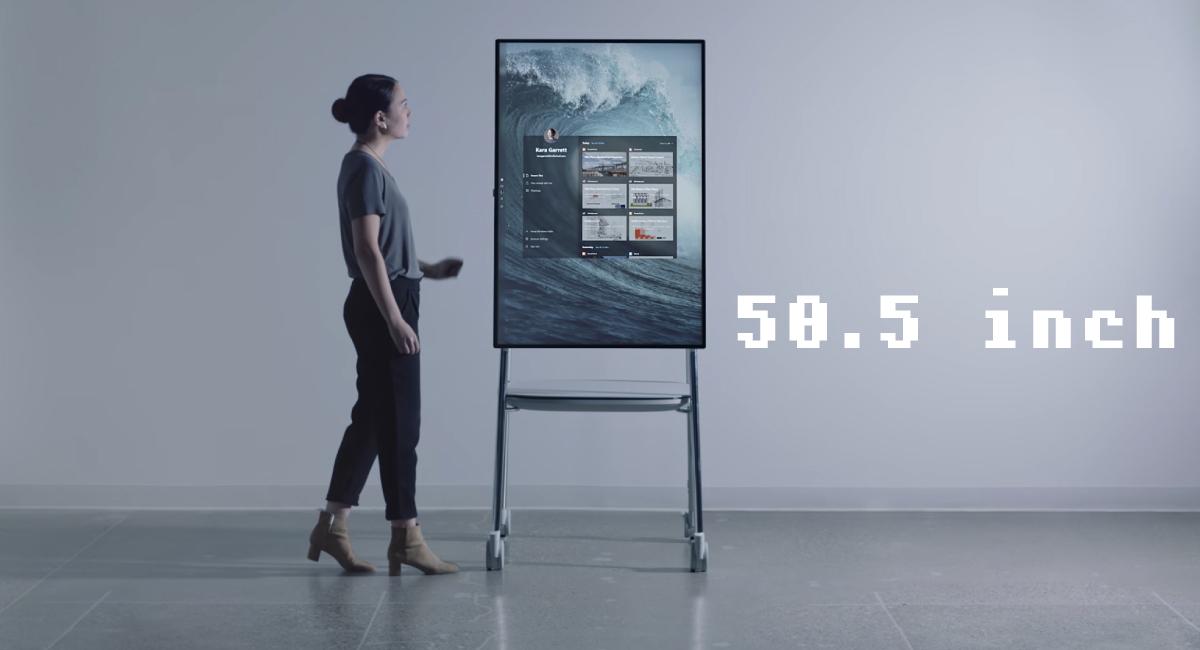 1.50インチ超の大画面