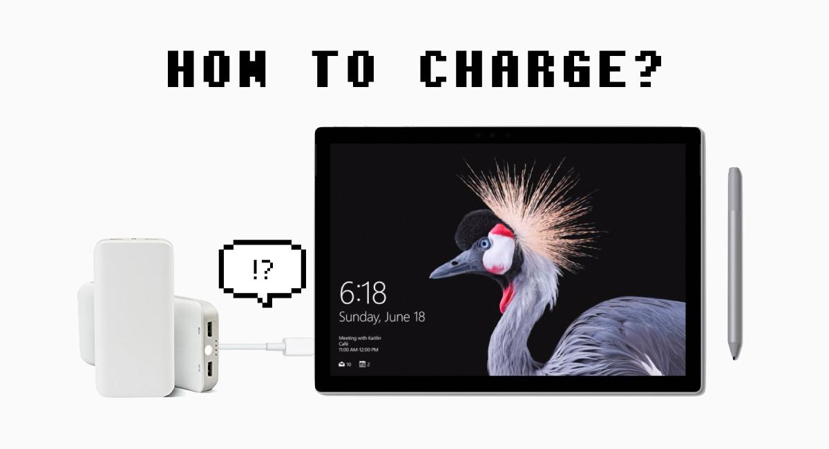モバイルバッテリーで充電する方法