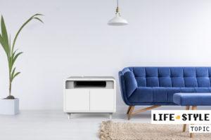 冷蔵庫×Qi充電器×ライト=最強デスク『Sobro』が支援達成!