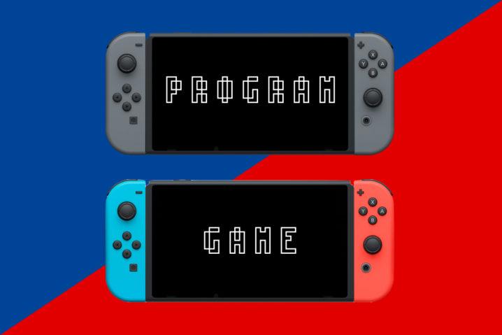 """むっ?『Nintendo Switch』は""""プログラミングコンソール""""なのかも?"""