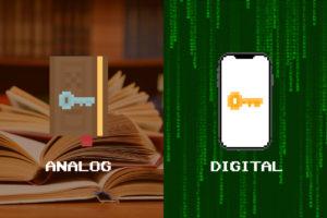 パスワードの保存、デジタル管理か?アナログ管理か?