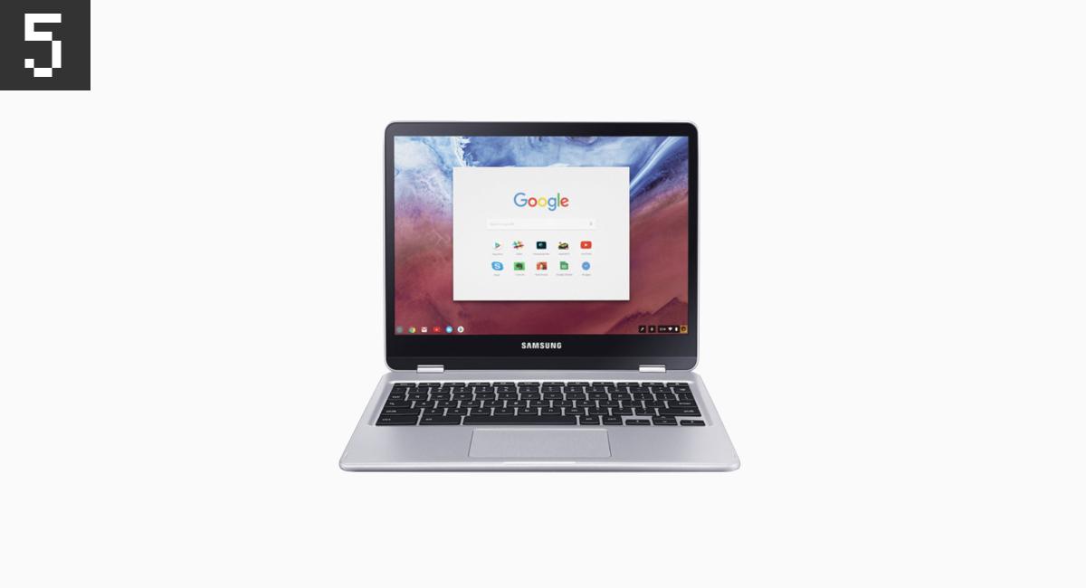 5.ノートもあればブックもね『Samsung Chromebook Plus』