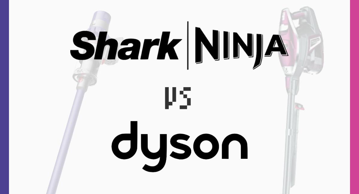 SharkNinja vs dyson