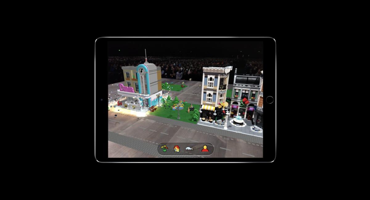 デモンストレーションでは、LEGO(レゴ)も登場。
