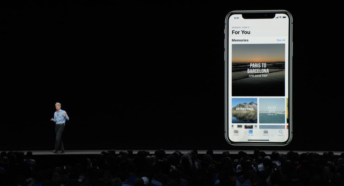 今回から『For You』というタブが追加されて、写真が自動整理されるそうです。