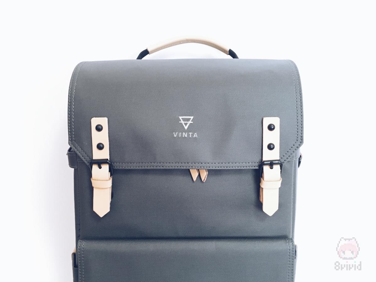 『VINTA』のロゴがデザインのアクセントに。