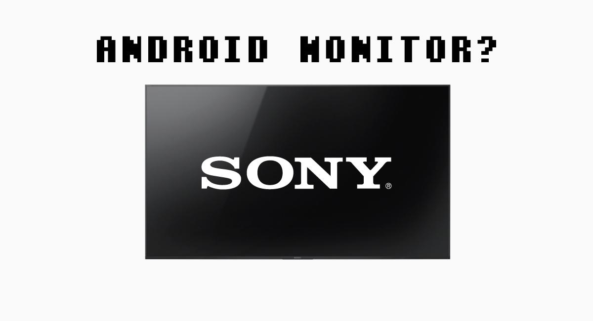 テレビ…というより、Android内蔵モニター?