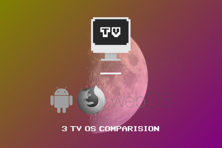 全5社・全4OS—スマートテレビ一斉比較するぞー!