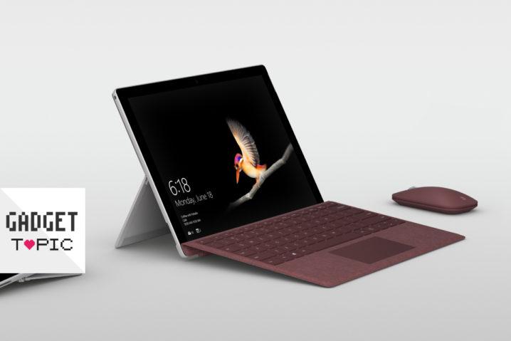 わっ!MSが『Surface Go』発表!iPad Pro 10.5と比較するぞっ
