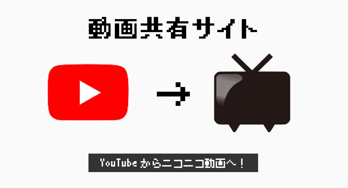 動画共有サイトを『ニコニコ動画』に変更