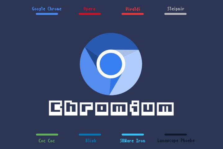 みんな兄弟?8種の『Chromium』ベースブラウザーをまとめたぞい
