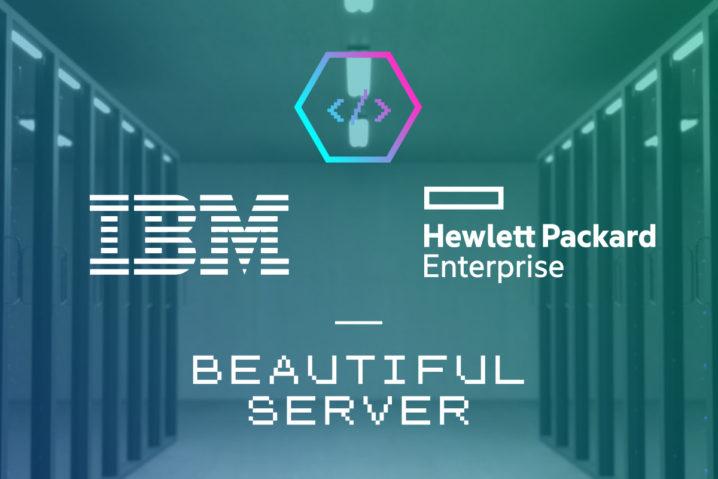 ひゃぁ…サーバーも芸術だ!—IBMとHPのデザインが死ぬほど美しい件