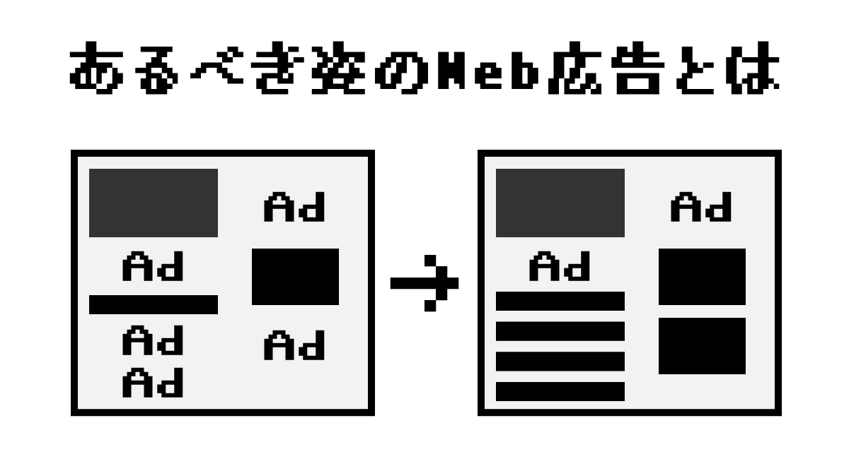 あるべき姿のWeb広告とは