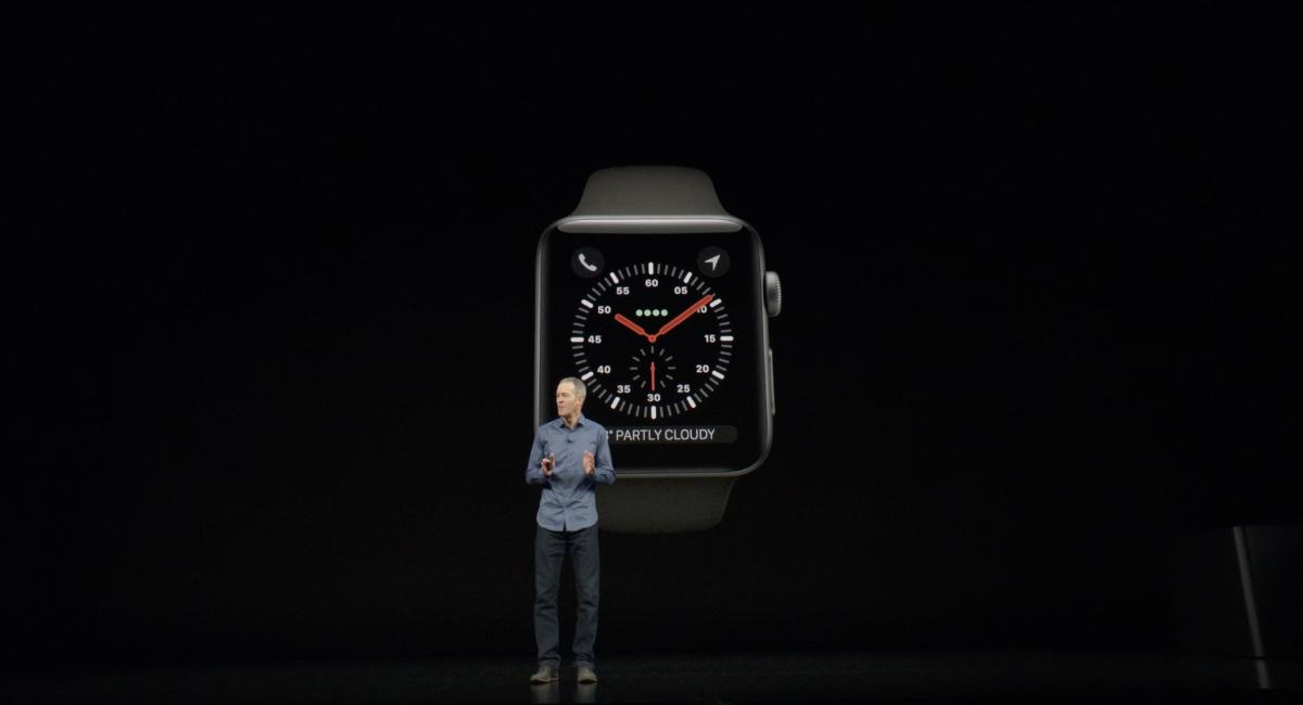 まず最初は『Apple Watch』から。