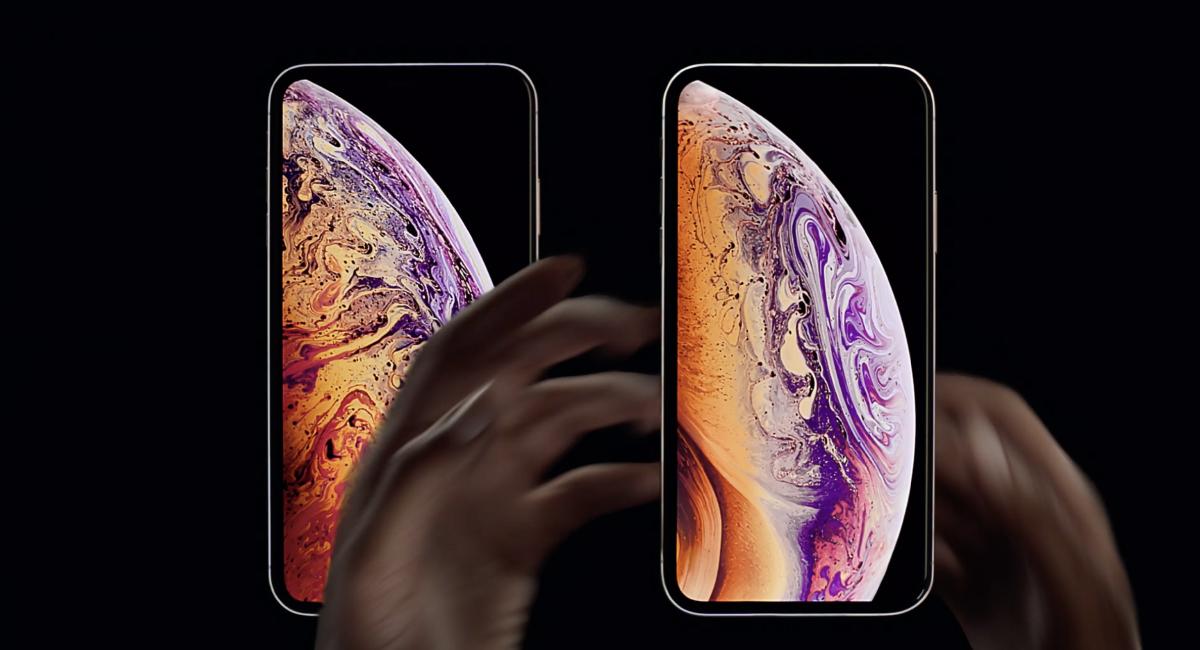 新型iPhoneは『iPhone XS』になりました。