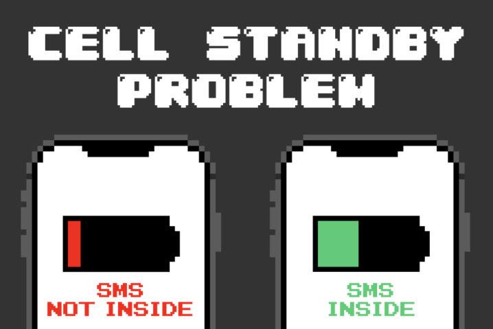 """スマホの""""セルスタンバイ問題""""—格安SIMにSMS機能がぜーったい必要な理由"""