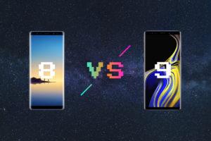 "『Galaxy Note8』と『Galaxy Note9』を徹底比較—""9""は大幅進化!"