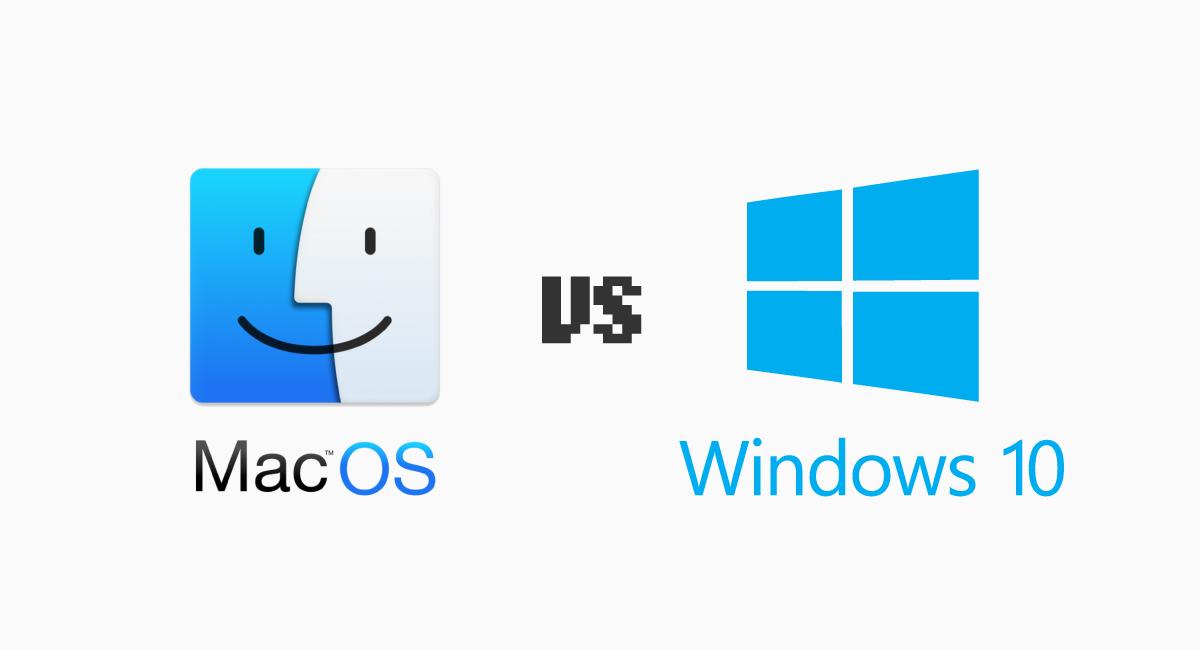 macOSとWindows 10は、進化のベクトルが似ているようで異なる。