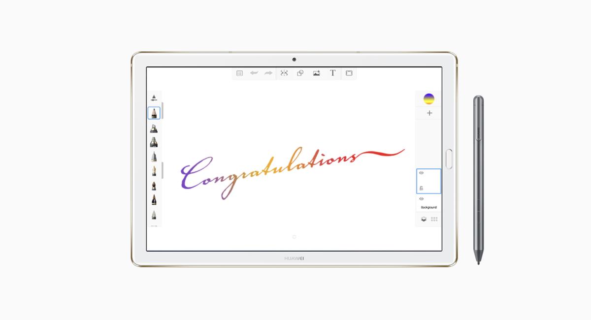 同社の『MediaPad M5 Pro』にも採用。