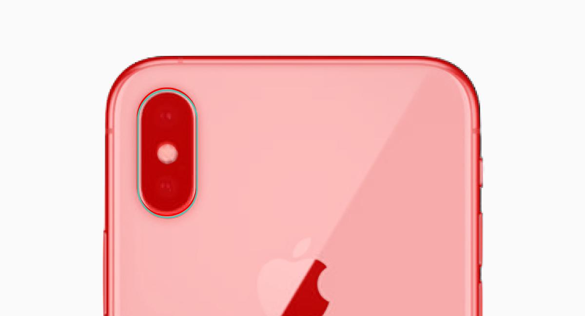 iPhone XとiPhone XSを重ねてアップにしてみた。