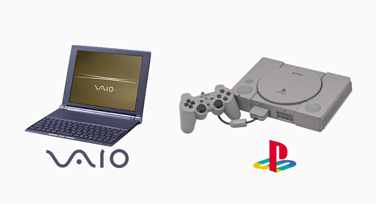 Sony好きならずとも、この両ブランドの認知度は圧巻。