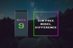 SIMフリー版『Galaxy Note9』4種まとめ –各種の違い&対応バンド表–