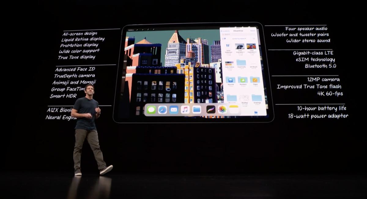 『iPad Pro』—ベゼルレスで顔認証に