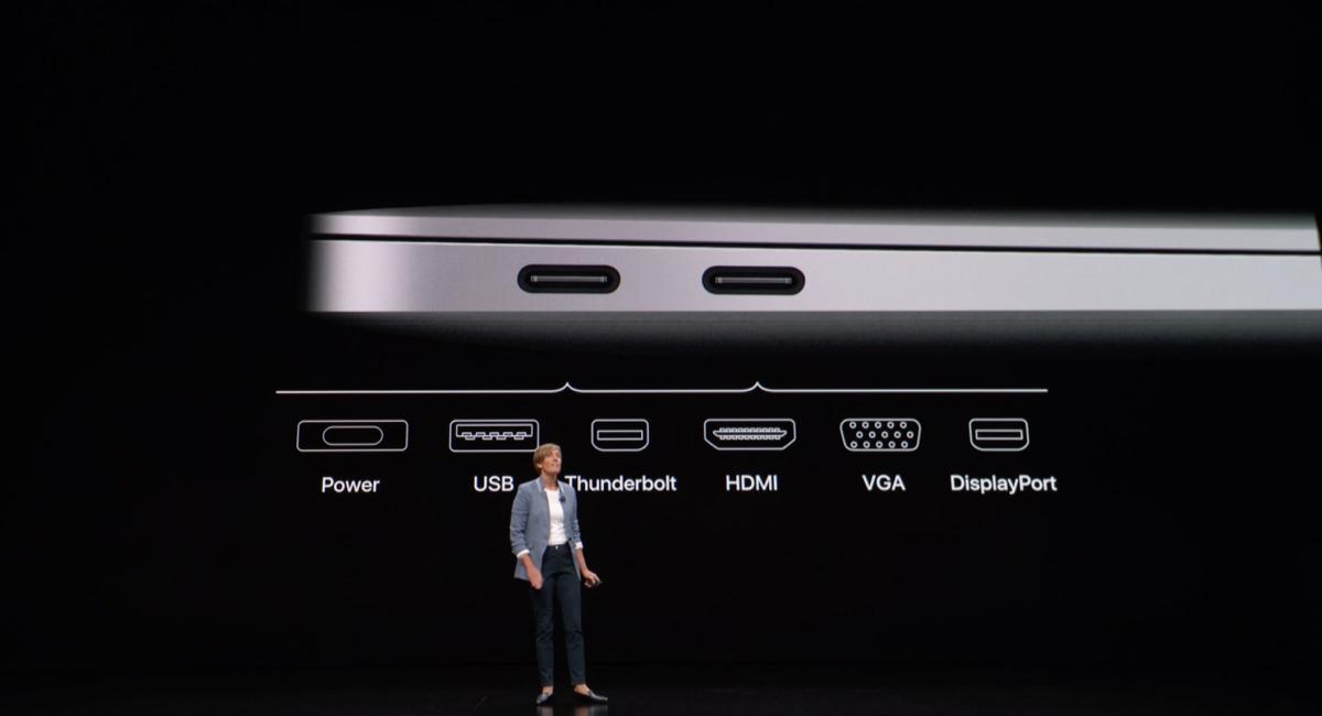 2018年モデルの新型MacBook Air。