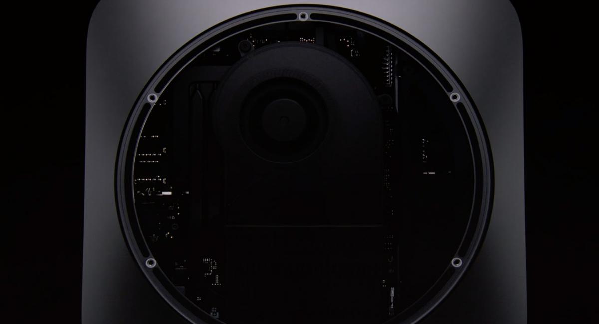 2018年モデルの新型Mac mini。